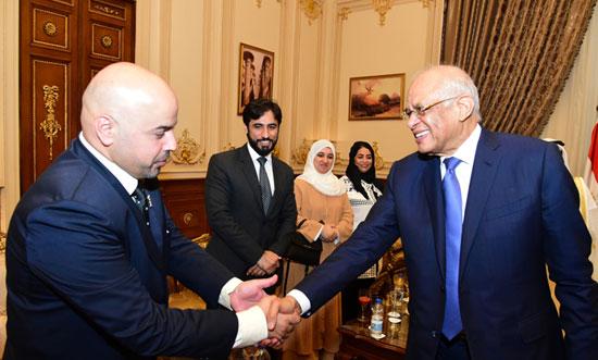 على عبدالعال ورئيس مجلس النواب البحرينى (14)