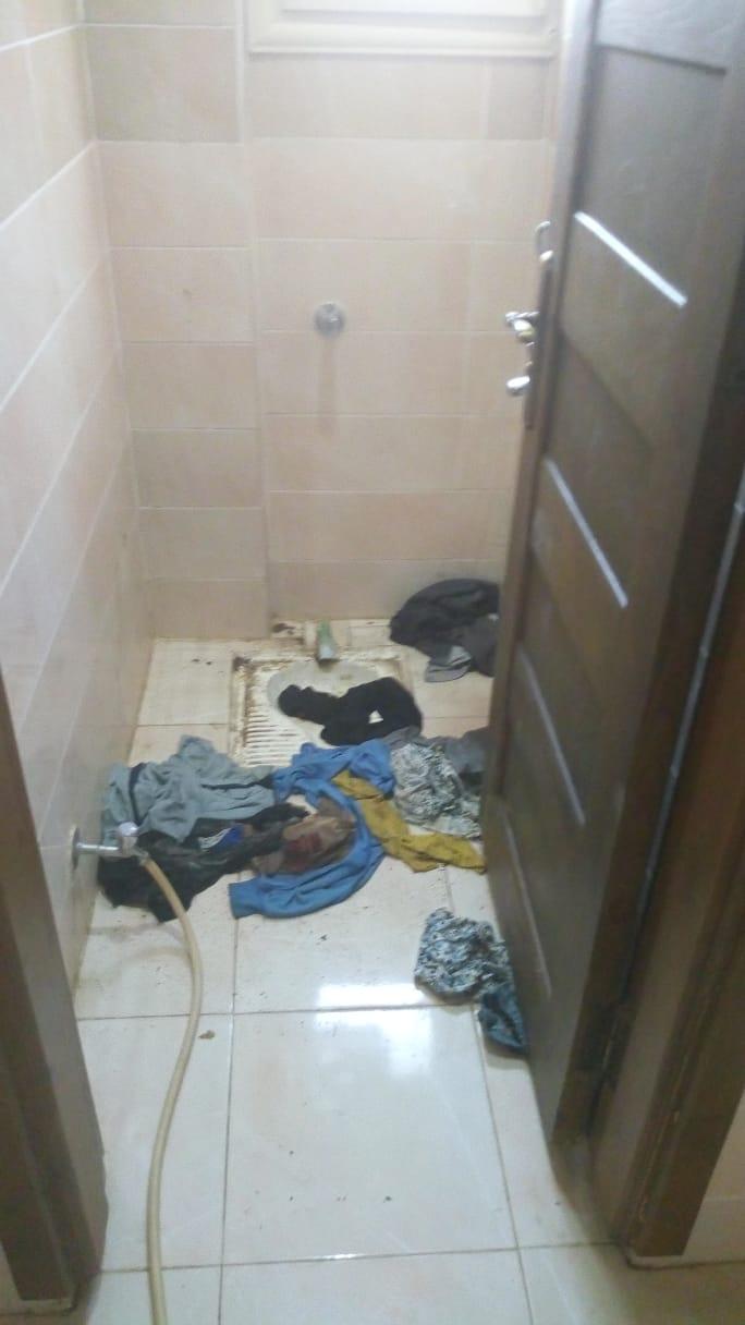 تردى حالة حمامات الدار