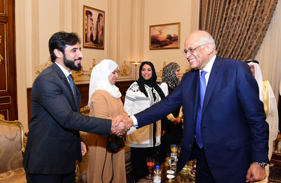 على عبدالعال ورئيس مجلس النواب البحرينى (13)