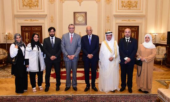 على عبدالعال ورئيس مجلس النواب البحرينى (15)