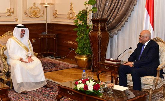 على عبدالعال ورئيس مجلس النواب البحرينى (7)