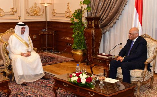 على عبدالعال ورئيس مجلس النواب البحرينى (8)