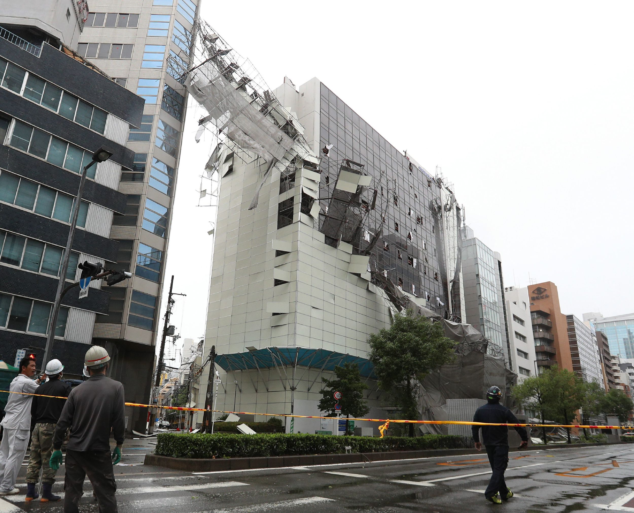 Image result for kyoto train station roof typhoon