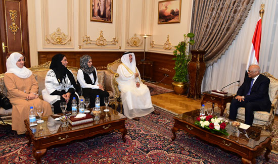 على عبدالعال ورئيس مجلس النواب البحرينى (3)