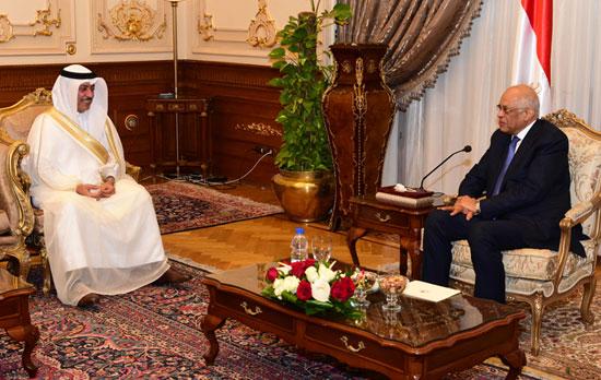 على عبدالعال ورئيس مجلس النواب البحرينى (9)