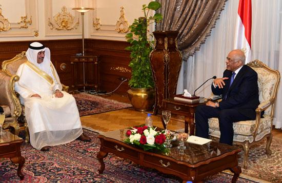 على عبدالعال ورئيس مجلس النواب البحرينى (11)