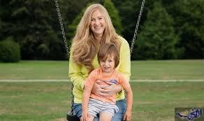 راشيل بلاند وأبنها