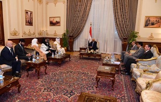 على عبدالعال ورئيس مجلس النواب البحرينى (5)