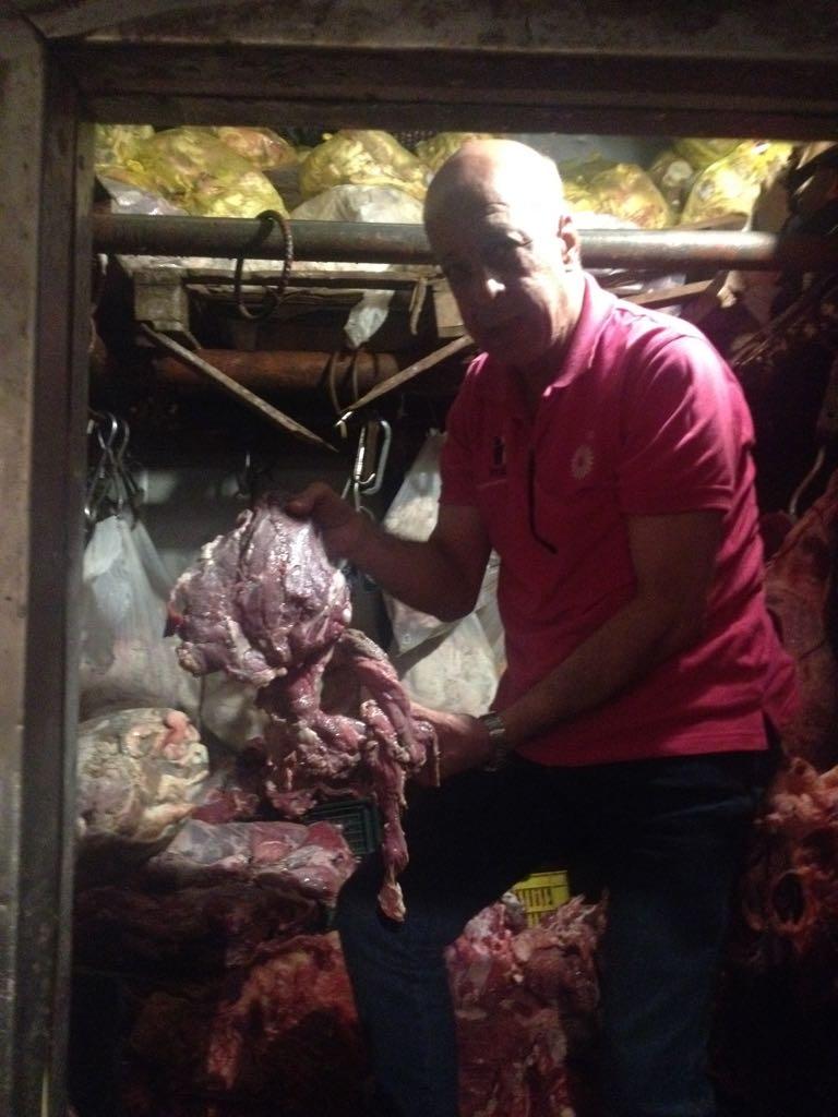 الزراعة  تواصل حرب اللحوم الفاسدة  (5)