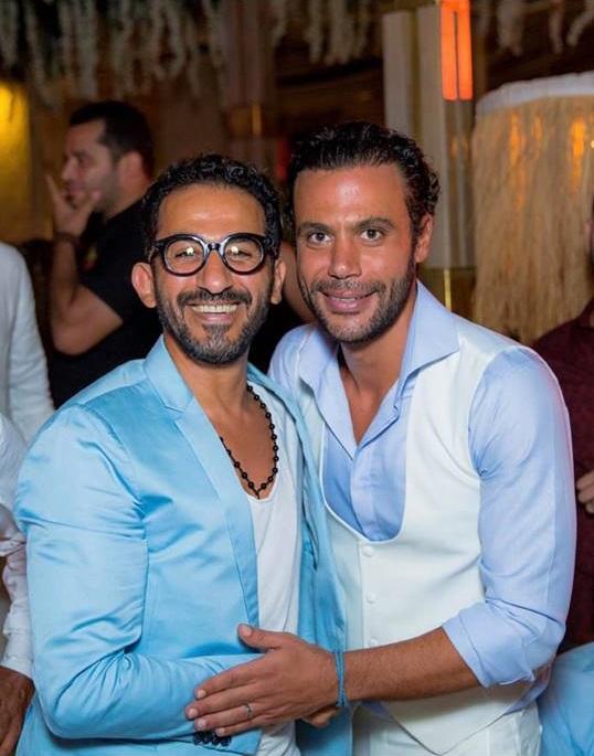 من حفل زفاف محمد إمام (2)