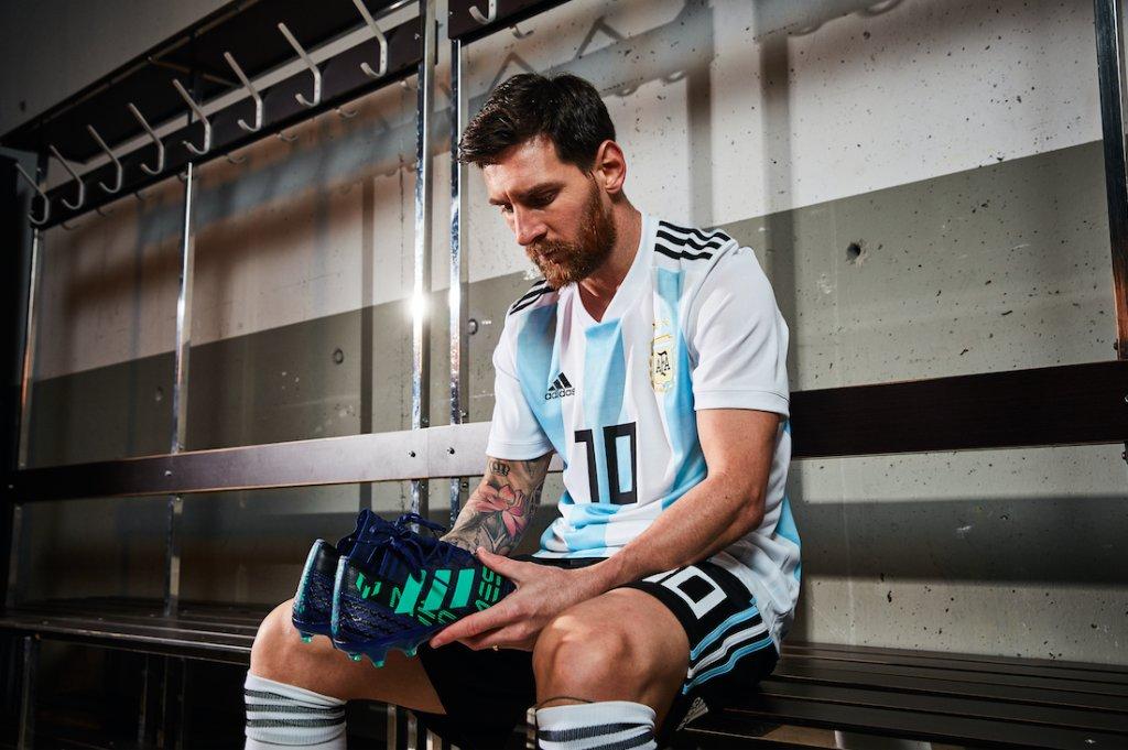 ميسي نجم برشلونة ومنتخب الأرجنتين