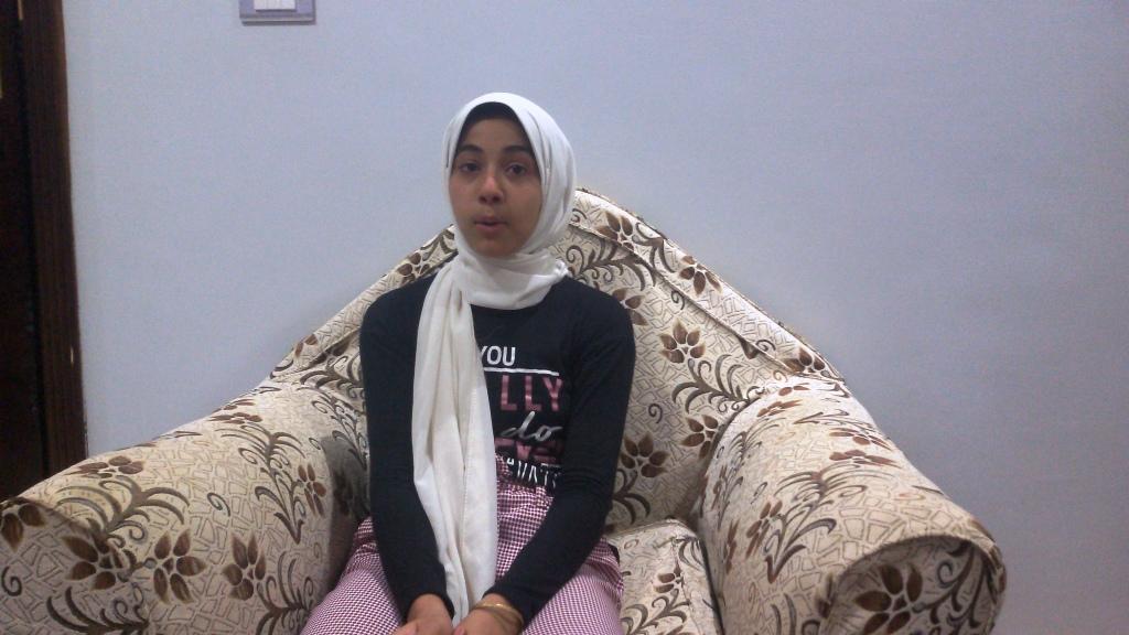 احد بنات المتوفى ريهام
