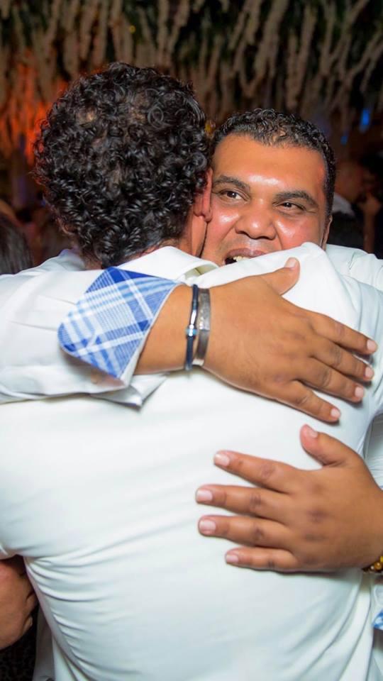 من حفل زفاف محمد إمام (9)