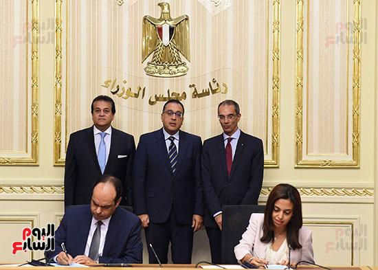 توقيع اتفاقية تعاون لتوفير سكن كريم للأسر الأولى للرعاية بين وزارات الأوقاف والتضامن والإسكان (6)