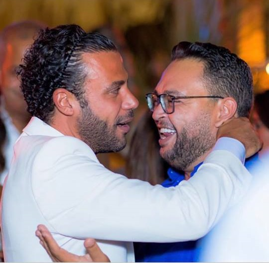 من حفل زفاف محمد إمام (8)