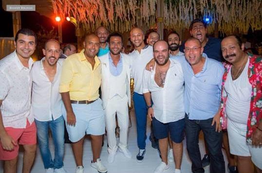 من حفل زفاف محمد إمام (13)