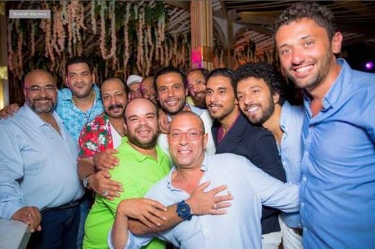 من حفل زفاف محمد إمام (11)