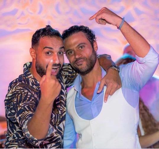 من حفل زفاف محمد إمام (5)