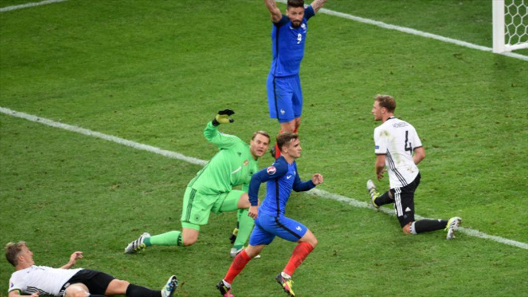 المانيا ضد فرنسا