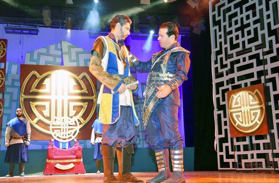 عرض بلاد السعادة على مسرح السلام (2)