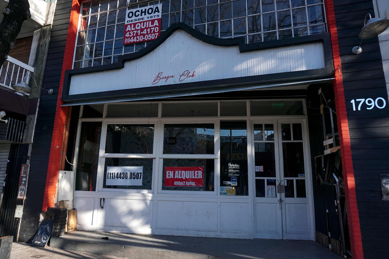 متجر مغلق فى الأرجنتين