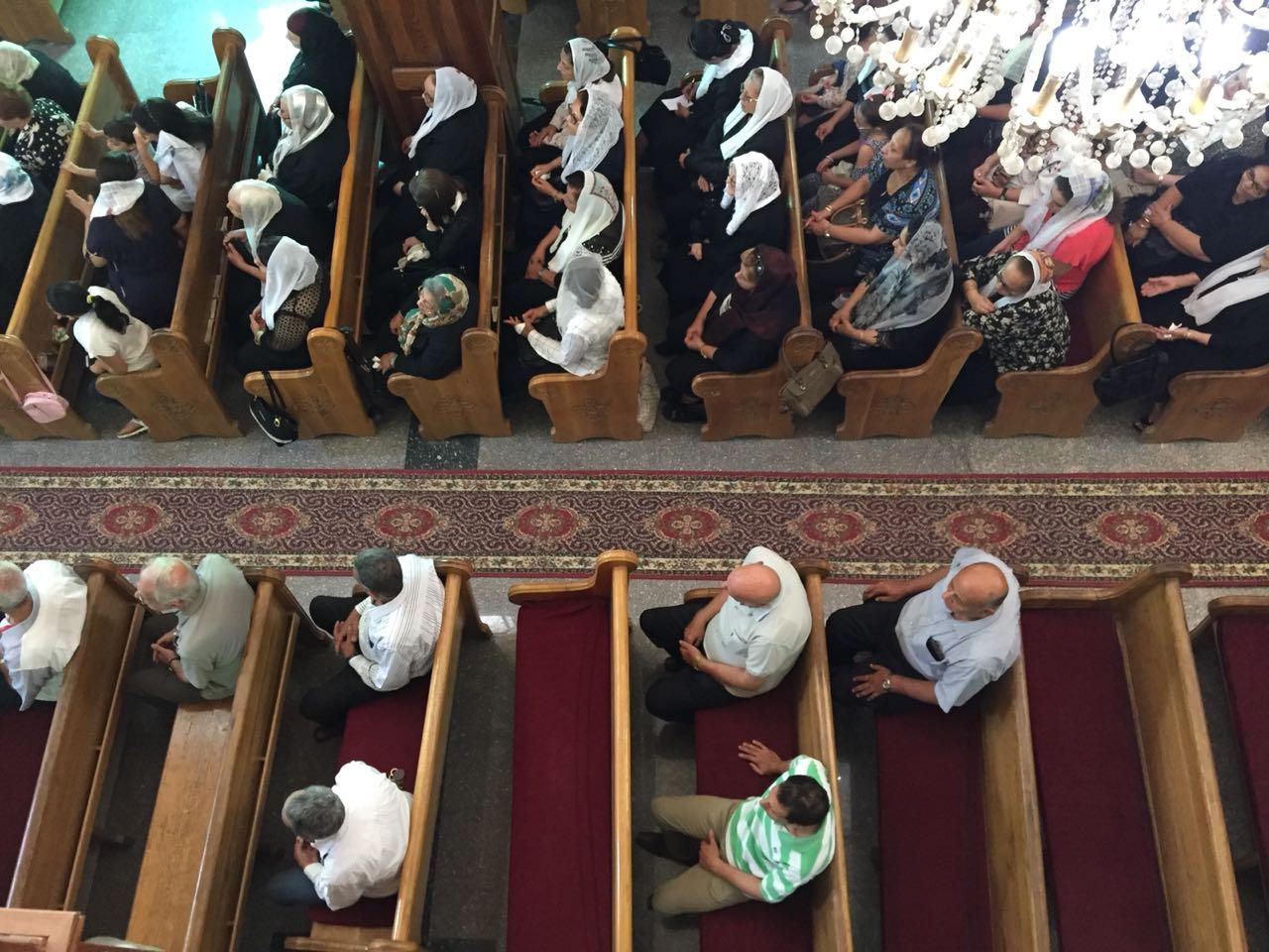 صلاة قداس الأربعين للأنبا أبيفانيوس بكنيسة العذراء بطنطا (4)
