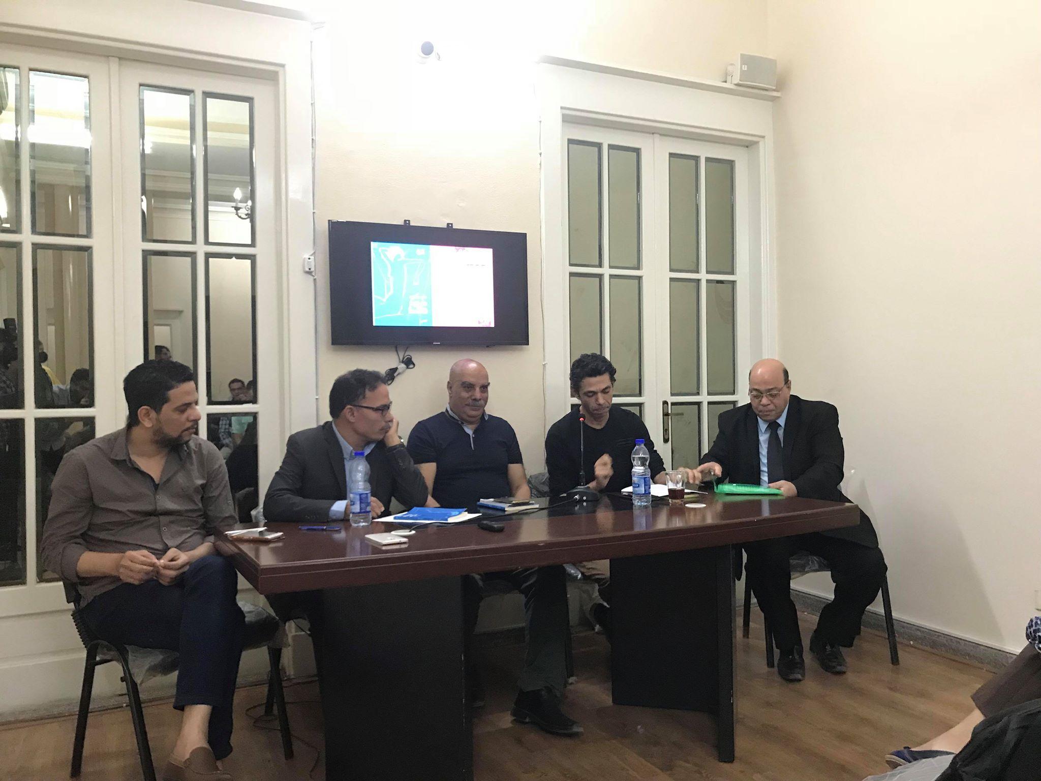 مناقشة حروب فاتنة للكاتب حسن عبد الموجود فى مؤسسة بتانة (3)