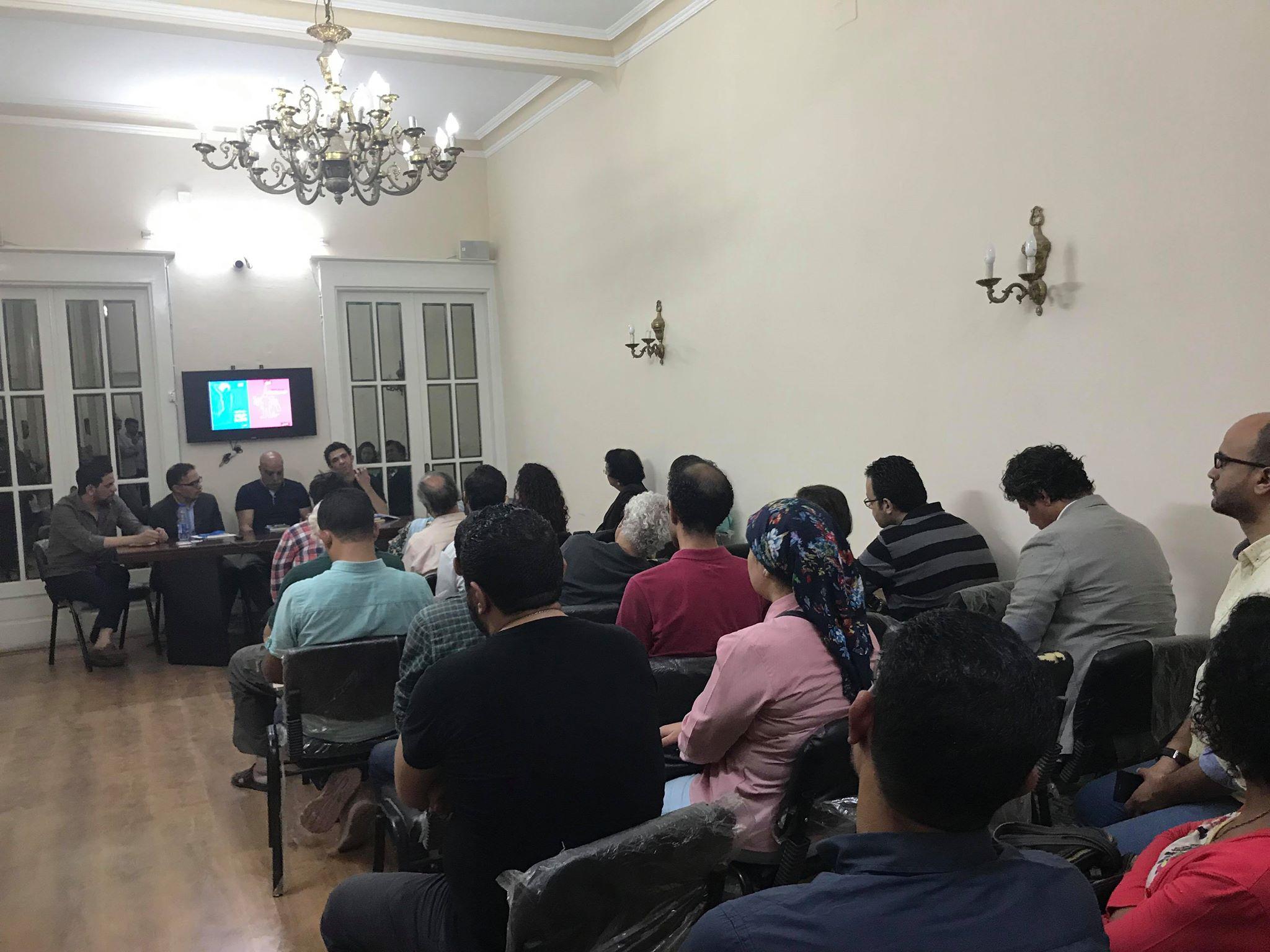 مناقشة حروب فاتنة للكاتب حسن عبد الموجود فى مؤسسة بتانة (1)