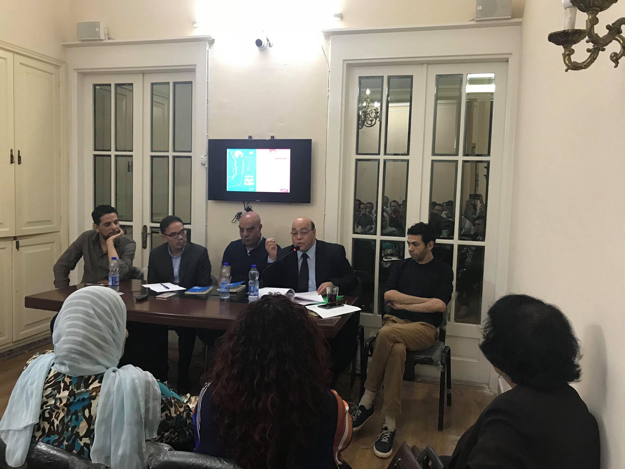 مناقشة حروب فاتنة للكاتب حسن عبد الموجود فى مؤسسة بتانة (5)
