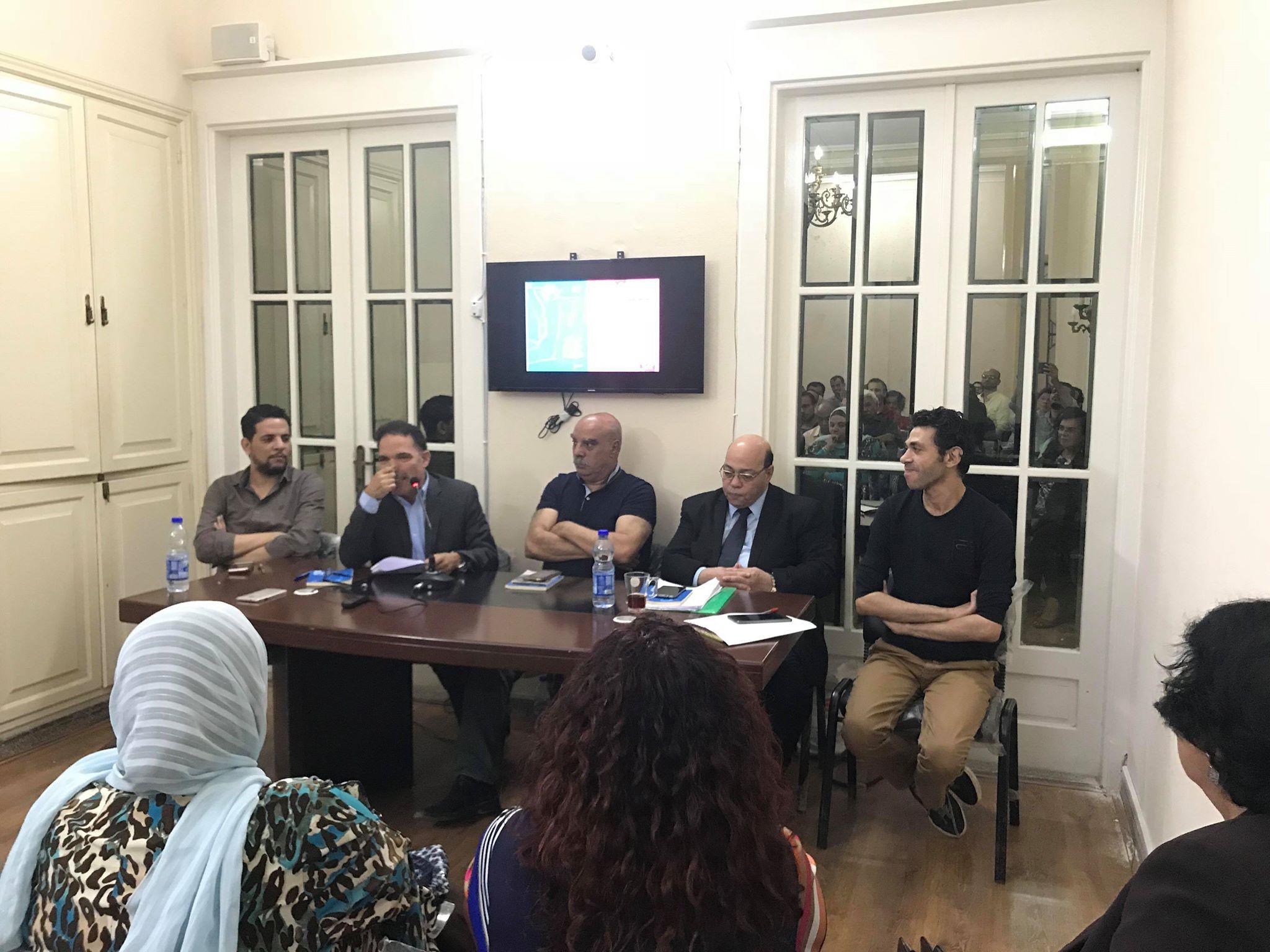 مناقشة حروب فاتنة للكاتب حسن عبد الموجود فى مؤسسة بتانة (4)