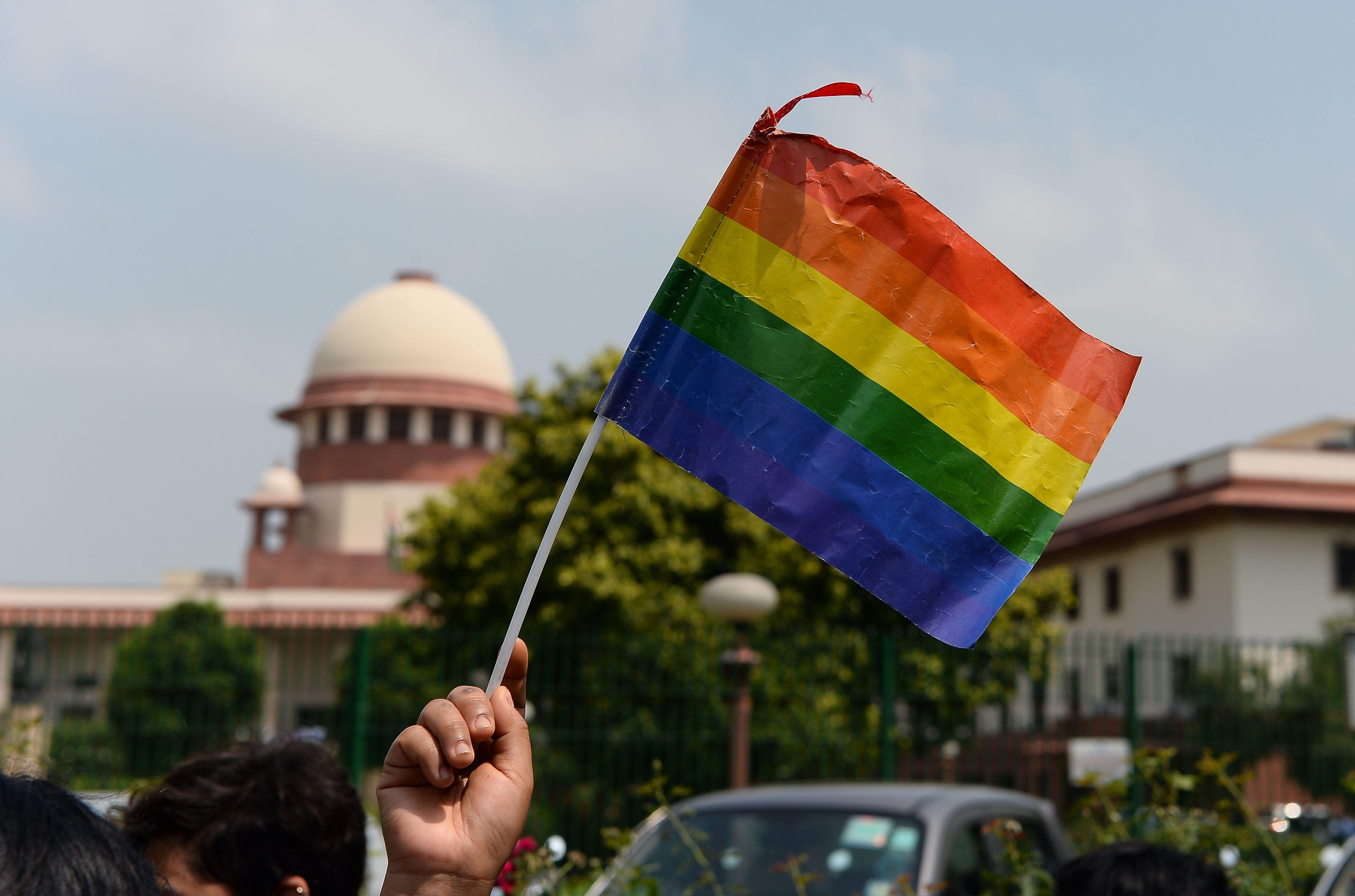 اعلام المثليين ترتفع فى الهند