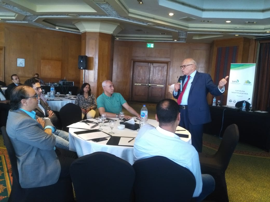 منصور حسن يشرح منظومة سلامة الغذاء