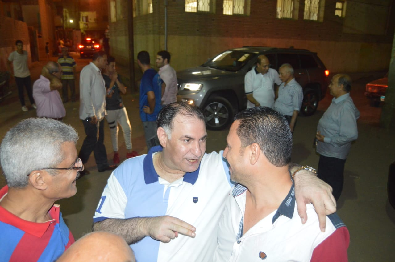 محمد فودة يزور نادى العروبة بزفتى وسط ترحيب كبير (2)