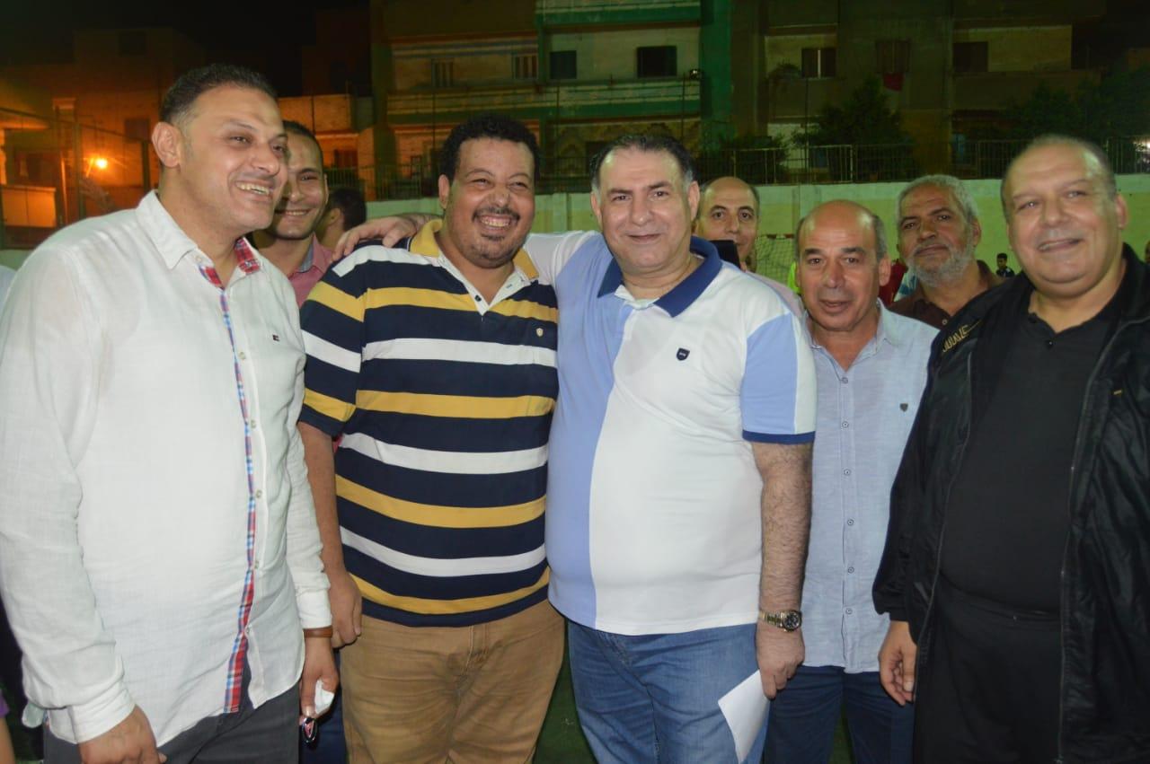 محمد فودة يزور نادى العروبة بزفتى وسط ترحيب كبير (12)