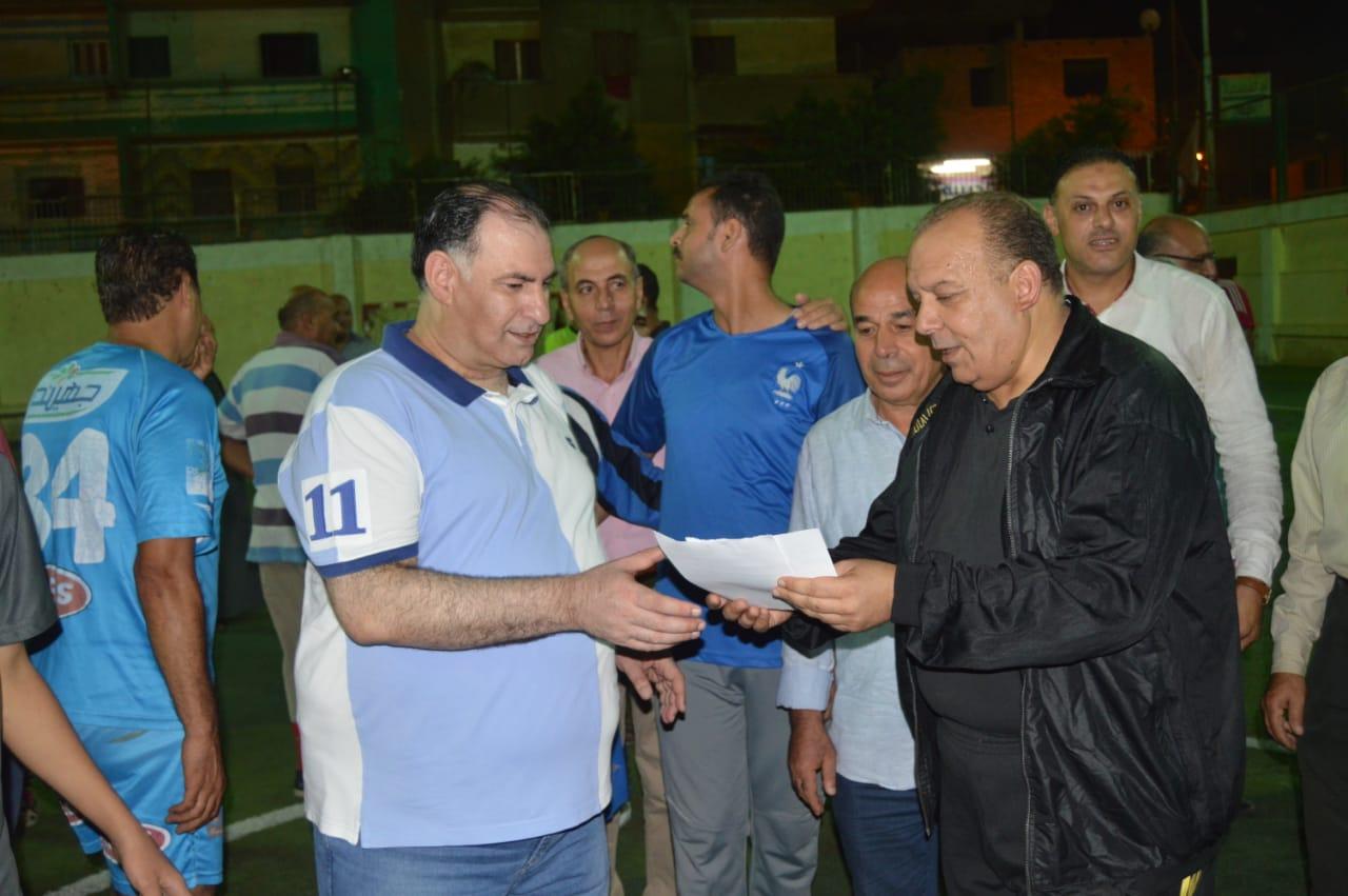 محمد فودة يزور نادى العروبة بزفتى وسط ترحيب كبير (9)