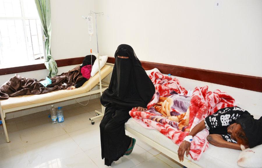 الكوليرا فى اليمن