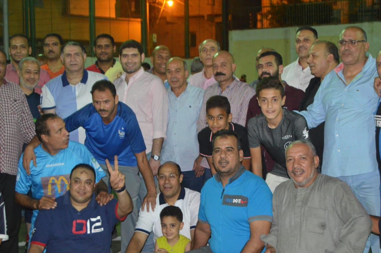 محمد فودة يزور نادى العروبة بزفتى وسط ترحيب كبير (8)