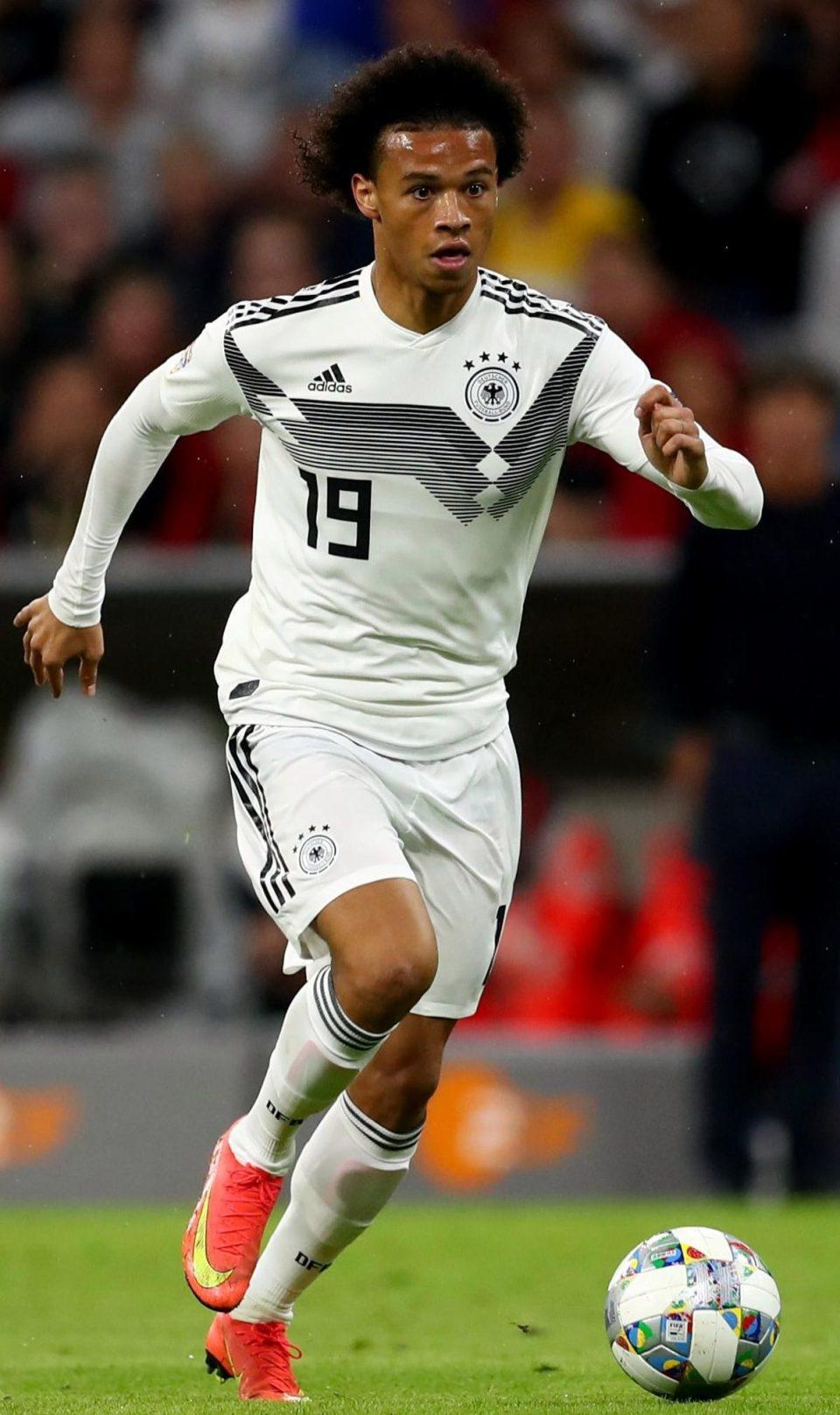 ساني نجم منتخب المانيا الشاب