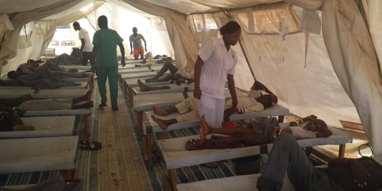 الكوليرا فى نيجيريا