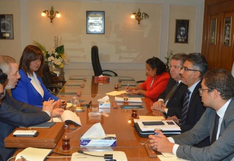 اجتماع وزيرا قطاع الأعمال العام والهجرة لبحث التأمين على المصريين بالخارج