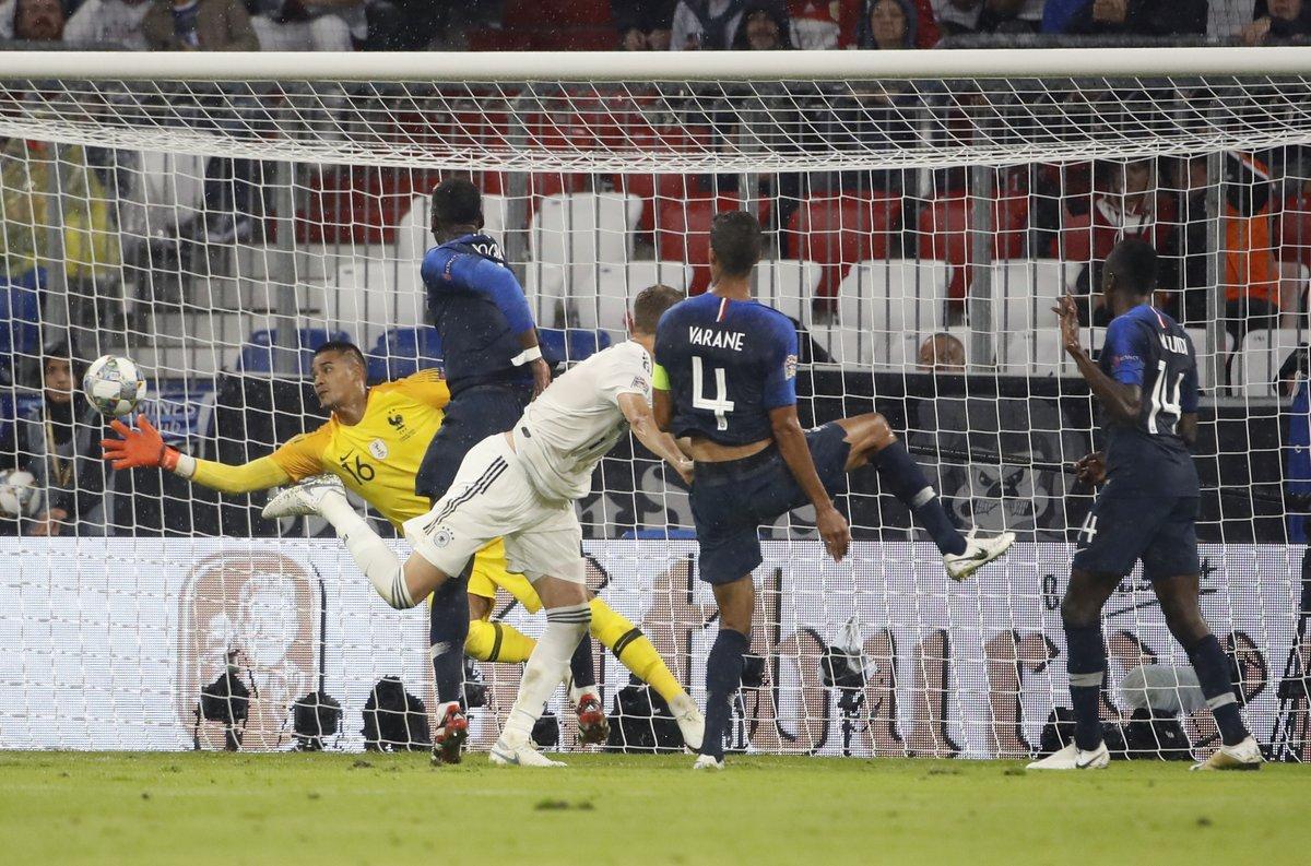 مباراة المانيا ضد فرنسا (3)
