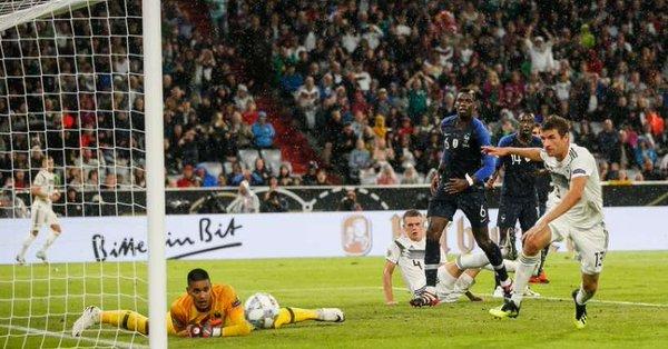 مباراة المانيا ضد فرنسا (2)