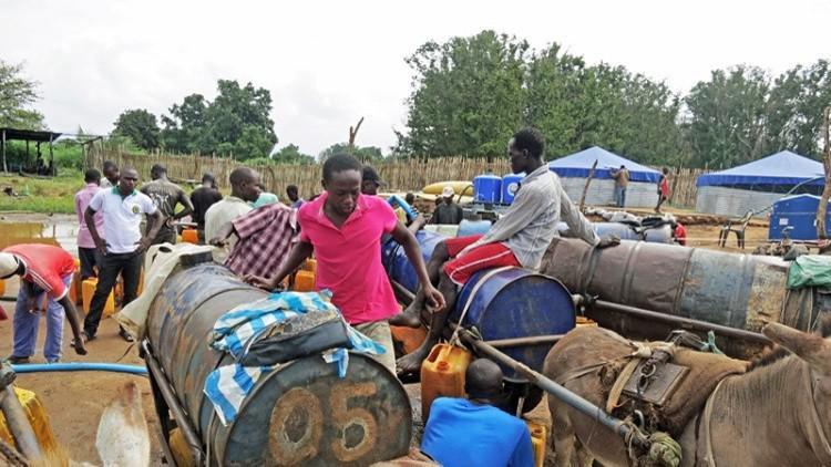 المياه الملوثة جنوب السودان