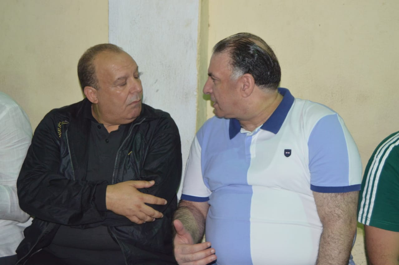 محمد فودة يزور نادى العروبة بزفتى وسط ترحيب كبير (22)