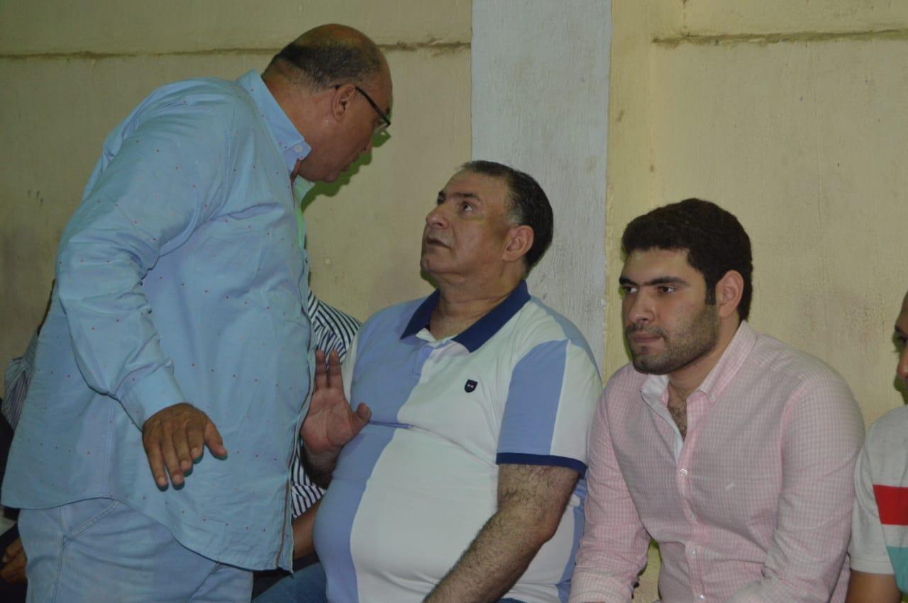 محمد فودة يزور نادى العروبة بزفتى وسط ترحيب كبير (16)