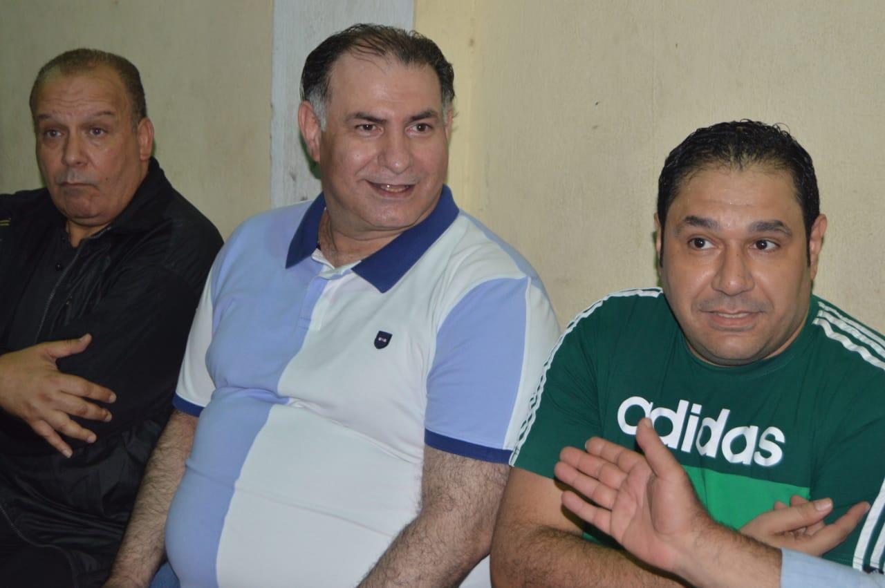 محمد فودة يزور نادى العروبة بزفتى وسط ترحيب كبير (1)