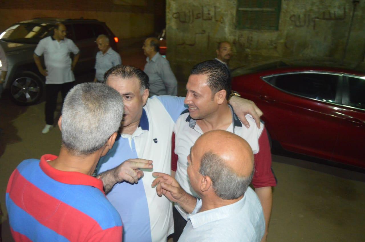 محمد فودة يزور نادى العروبة بزفتى وسط ترحيب كبير (11)