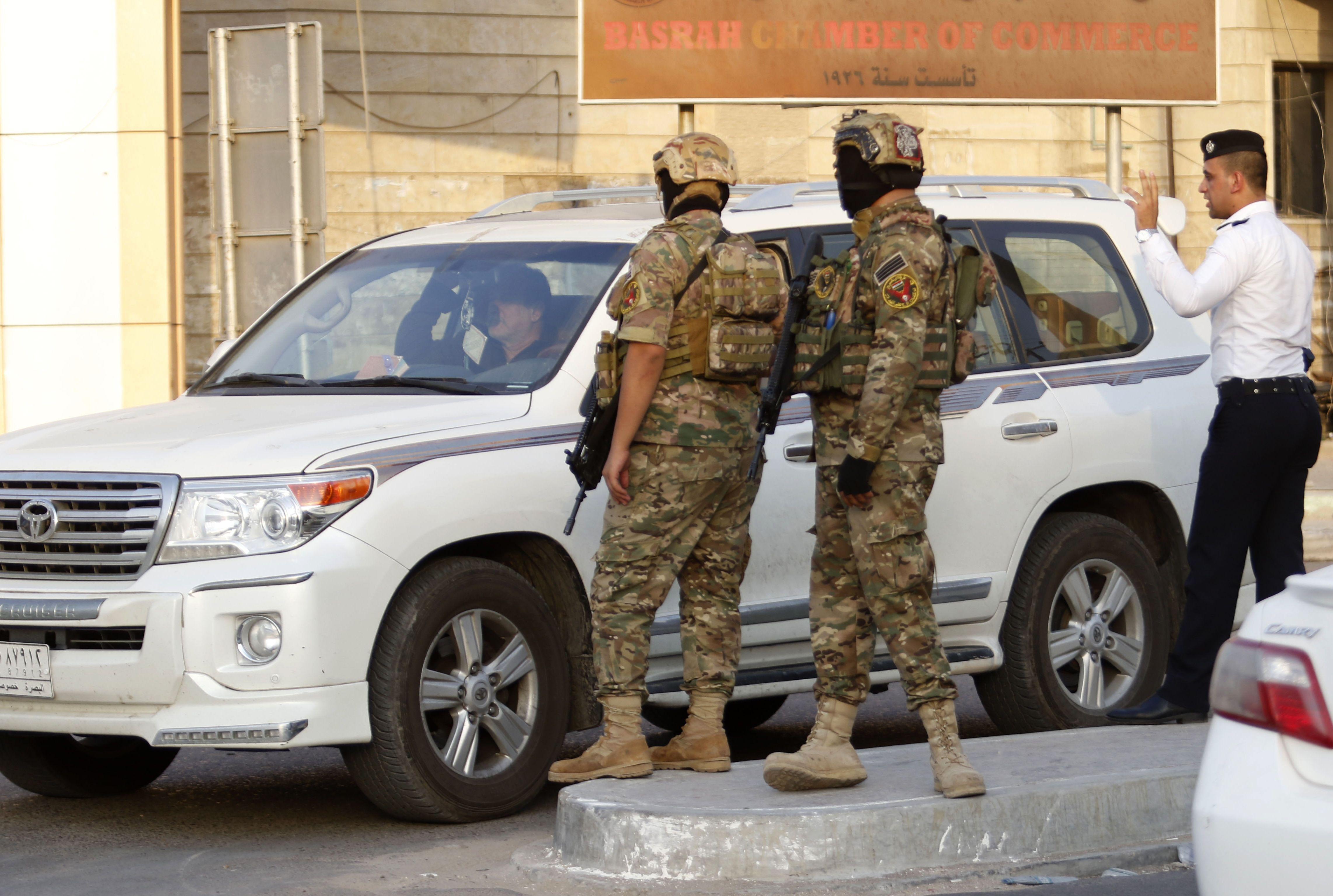 تواجد قوات الجيش العراقى