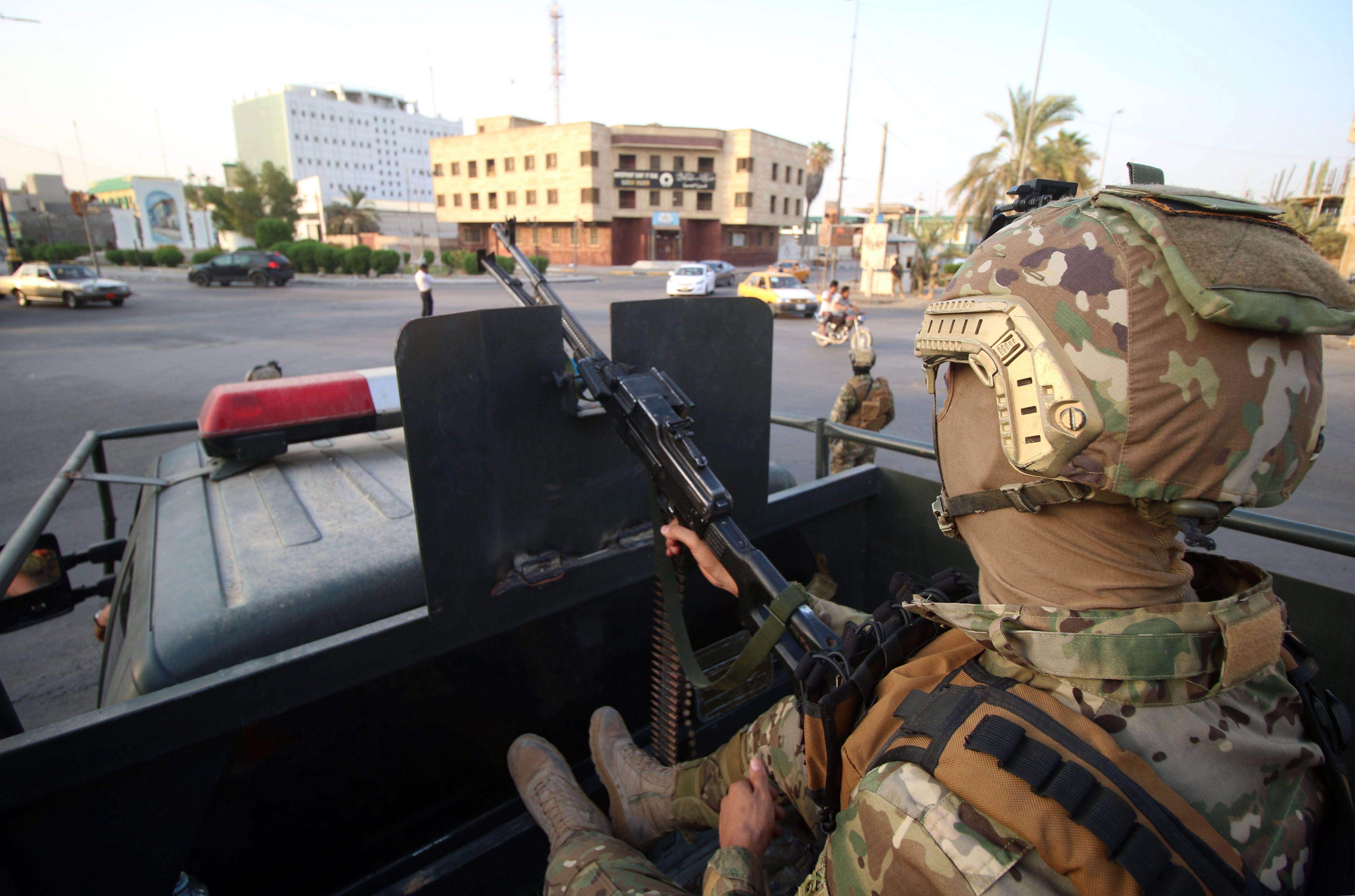 انتشار الجيش العراقى