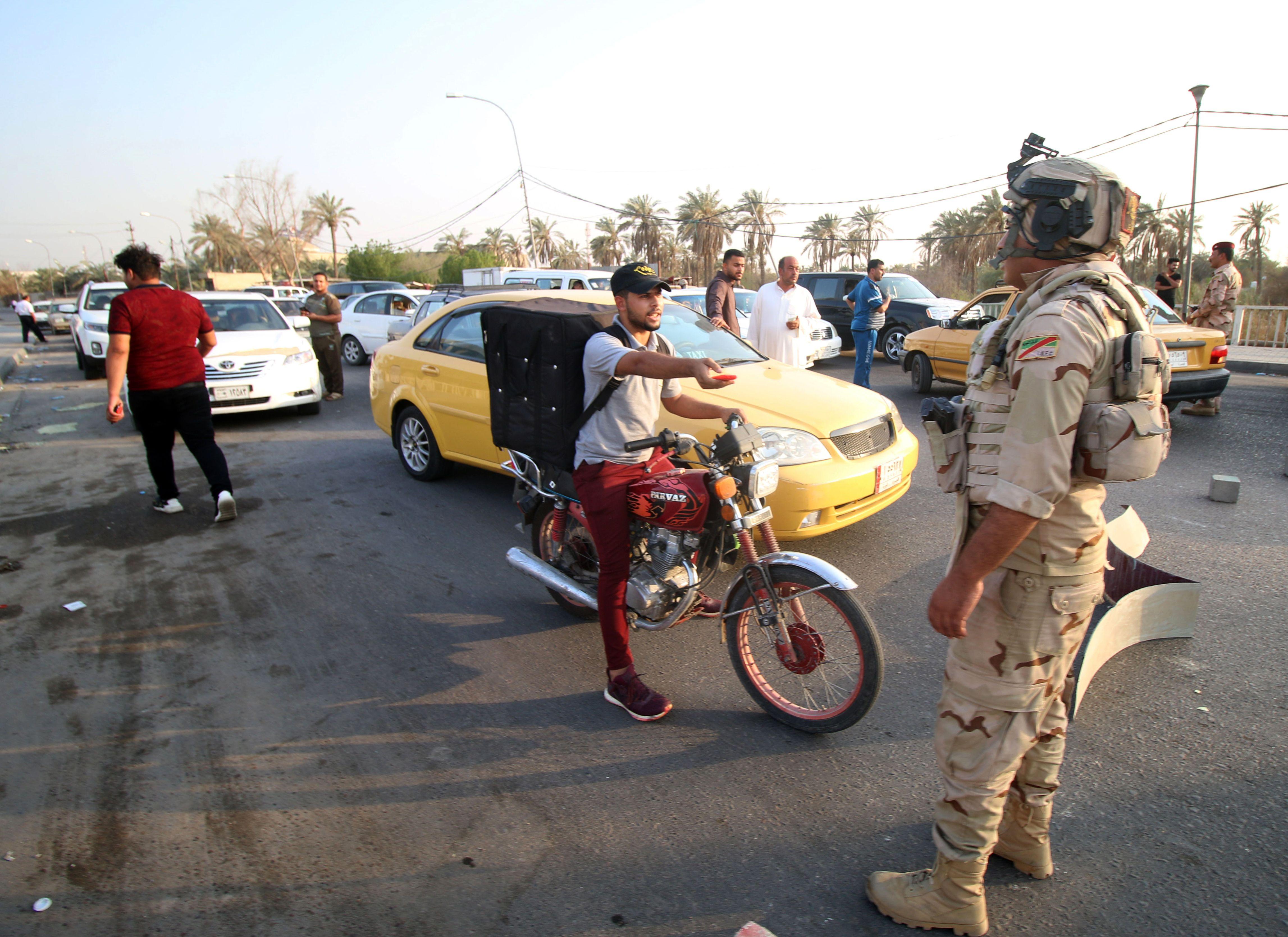 الجيش العراقى فى البصرة